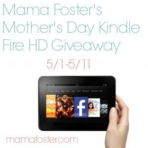 kindle fire giveaway for Mothers day