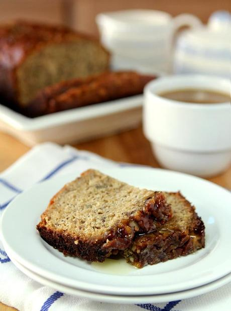 Bananas Foster Bread for the Kentucky Derby | Creative-Culinary.com