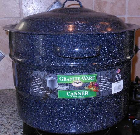 This is my water bath canner.  While you do not have to use a pot designated as a