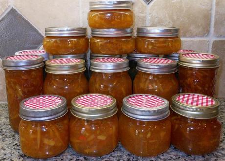 18 jars of marmalade!