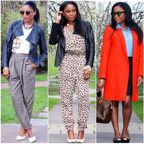 Today I'm Wearing: April '14 Looks