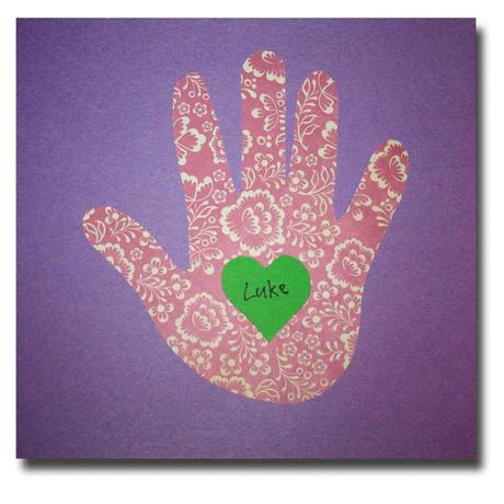 Hand and Heart Shape