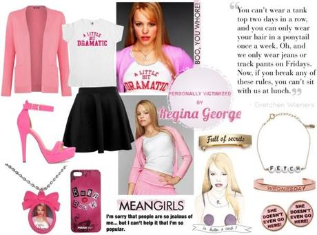 and evil takes a human form in regina george.