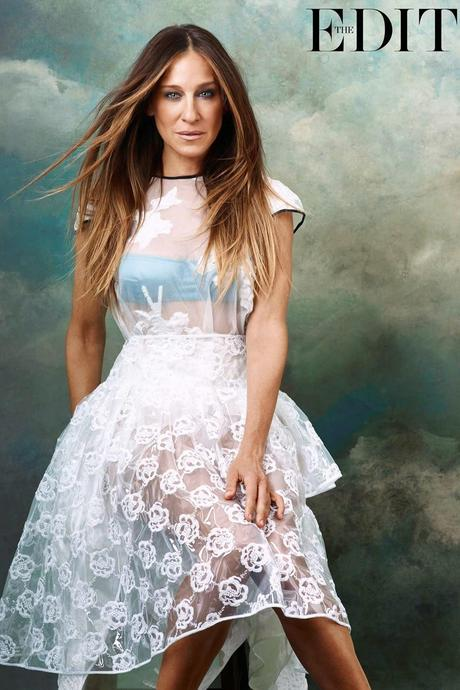 Sarah Jessica Parker by Bjorn Iooss for The Edit Magazine,May 2014