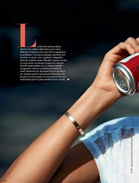 Jessica Hart For Glamour Magazine, France, June 2014