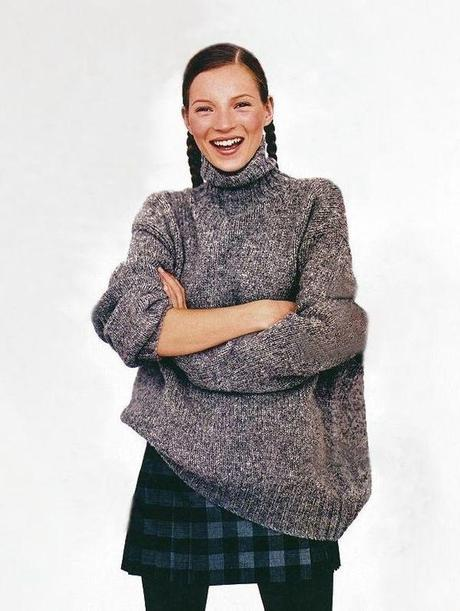 Fashion Flashback: Kate Moss In Mademoiselle Magazine