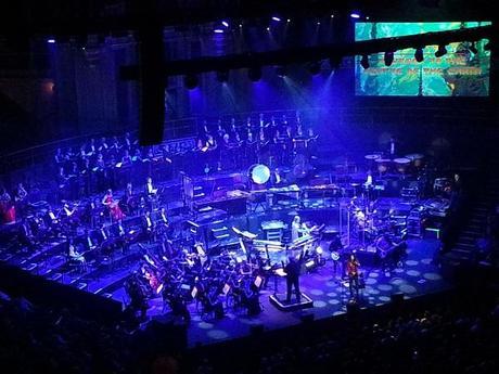 Rick Wakeman performing in London, 2014