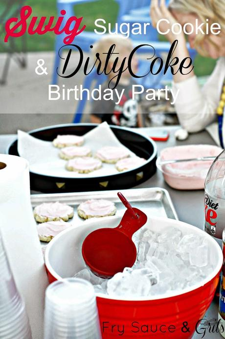 Swig Themed Birthday Party from Fry Sauce and Grits