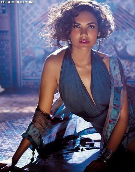 Esha Gupta For Hot Elle Magazine, India, May 2014