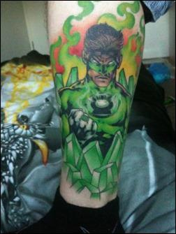 Green Lantern Tattoo