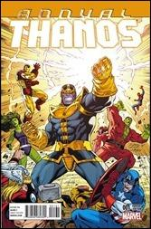 Thanos Annual #1 Cover - Lim Variant