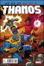 Thanos Annual #1 Cover - Starlin Variant