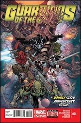 Guardians of the Galaxy #14 - Nick Bradshaw