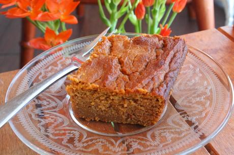 Pumpkin Bread/Cake (Dairy, Gluten and Refined Sugar Free)