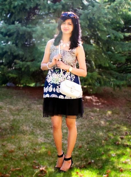 OOTD: Sequined Florals