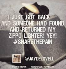 Zippo Introduces #ShareThePain Virtual Support System for Owners of Lost Lighters