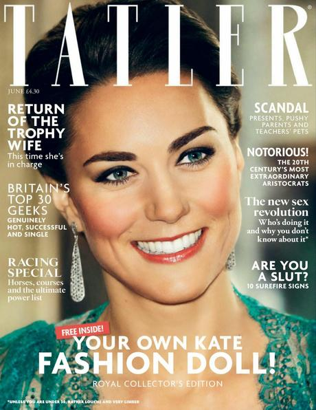 Kate Middleton for Tatler Magazine, UK, June 2014