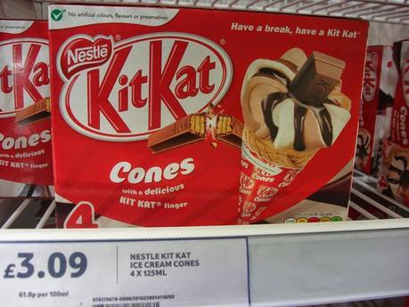 Spotted In Shops! Irn Bru Ice Cream, Kitkat Cones, D'aim Ice Cream, Smarties Sharing Blocks & More!