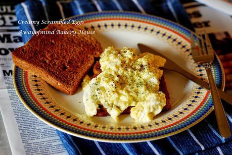 Creamy Scrambled Eggs 奶油炒蛋