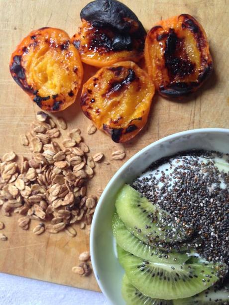 Roasted Apricot and Yogurt Breakfast