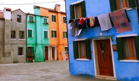 Postcardish Island of Burano