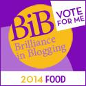 Dead Chuffed: Shortlisted for a Brilliance in Blogging Award