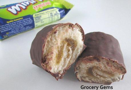McVitie's Jaffa Cake Mini Rolls Tropicool and Berry Burst