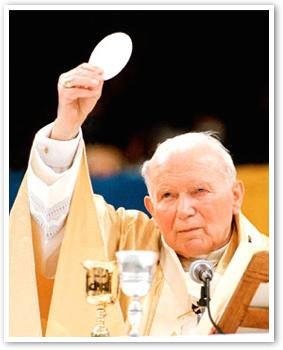 John Paul II and The Blessed Sacrament