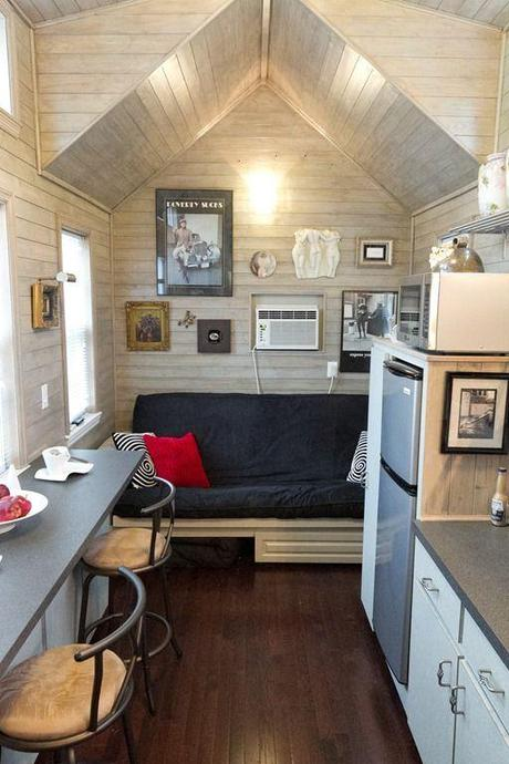 Super small space inspiration paperblog - The home in the loft space without borders ...