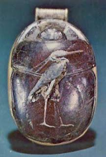 Heart Scarab of Tutankhamun