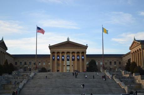 Rocky's Steps, Philadelphia, PA.