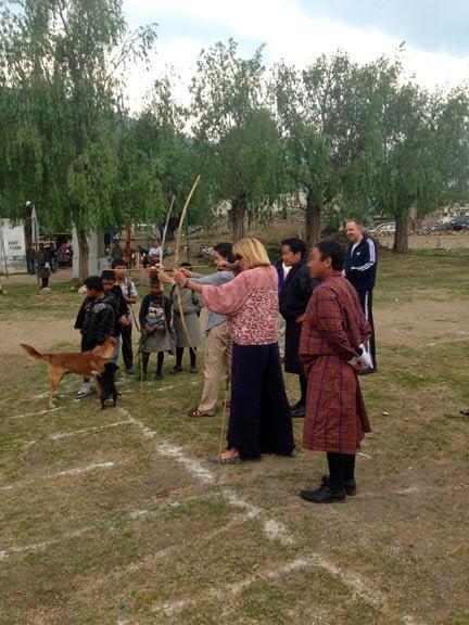 #FotoFriday-Discovering Archery in Bhutan