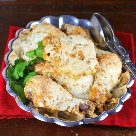 Southwest Chicken with Chipotle Cream Sauce