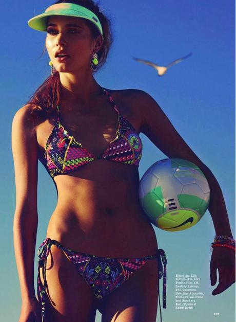 Daria Pilnitskaya For Cosmopolitan Magazine, UK, June 2014
