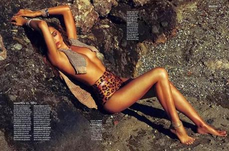 Miranda Kerr  for Elle Spain by Xavi Gordo