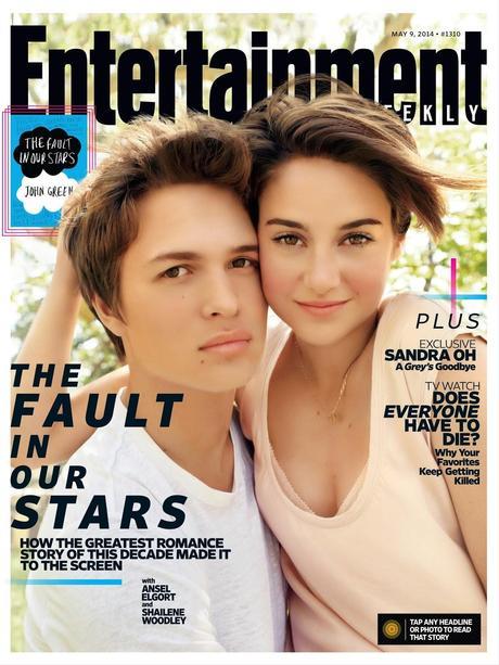Shailene Woodley For Entertainment Weekly Magazine, May 2014
