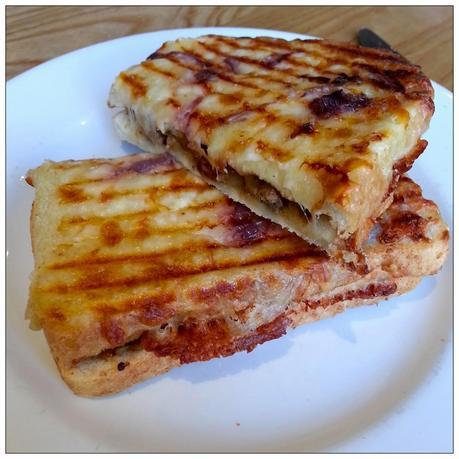 Costa Sausage and Red Onion Toastie