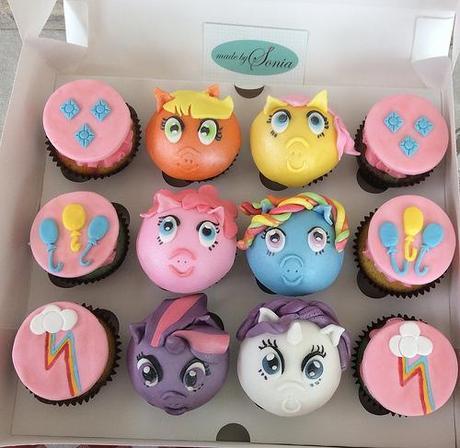 My Little Pony Cupcakes - Paperblog
