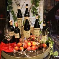 The red wine display