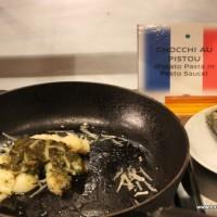 Gnocchi in Pesto Sauce