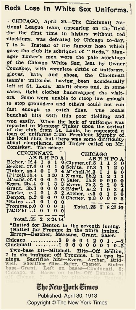 This day in baseball: White is the new red