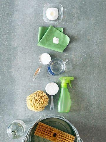 natural chemical free spring cleaning ideas bhg