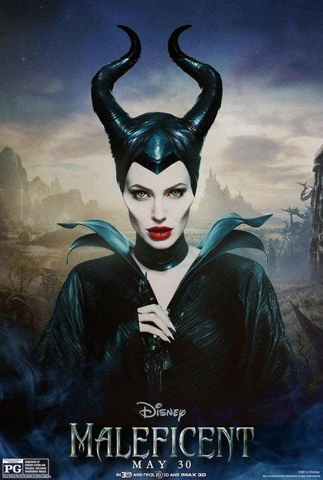 New Character Posters for 'Maleficent' Featuring Angelina
