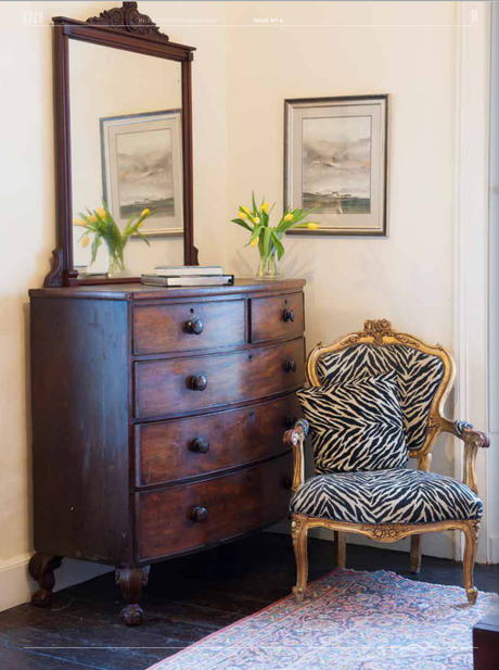 Inspiration for incorporating yard sale and flea market finds