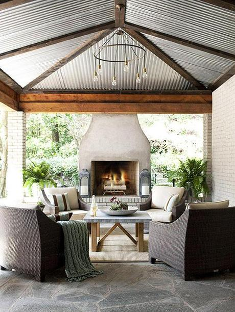 Montage Modern Outdoor Fireplaces Paperblog