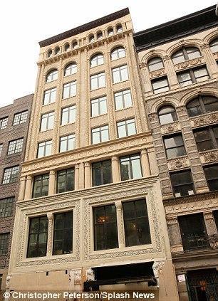 Leo's apartment in Greenwich Village