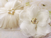 Custom Ivory Wedding Accessories Bride @FancieStrands