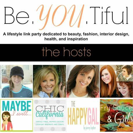 Be. YOU. tiful Link Party #19