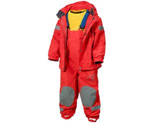All weather extendable clothing for growing kids: Didriksons