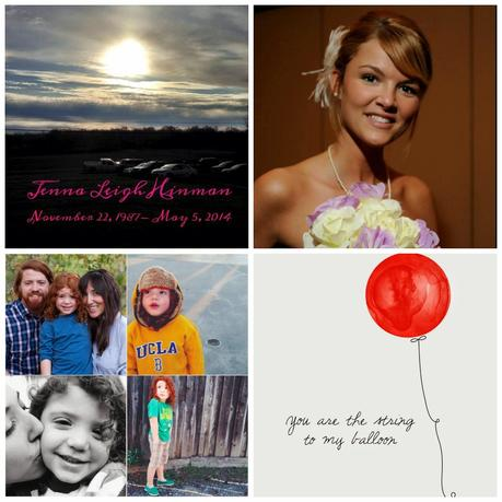 A heavy heart; Prayers for Jenna and Red Balloons for Ryan